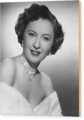 Barbara Stanwyck, 72750 Wood Print by Everett