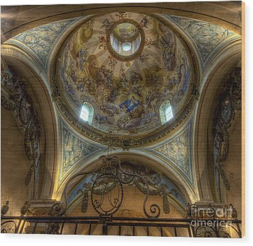 Baroque Church In Savoire France 5 Wood Print