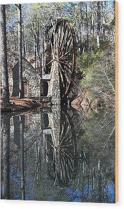 Barry College Mill Wood Print by Rick Mann