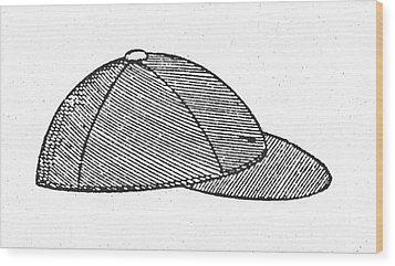 Baseball Cap, C1900 Wood Print by Granger
