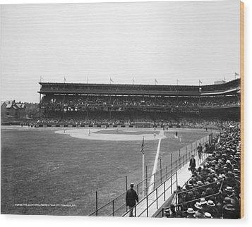 Baseball Game, C1912 Wood Print by Granger