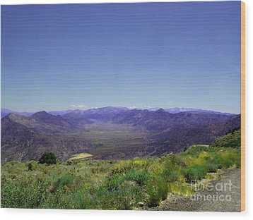 Basin - Canyon 9000 Feet   Wood Print by The Kepharts