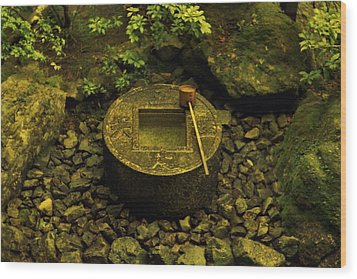 Wood Print featuring the photograph Basin To Purify And Humble by Craig Wood