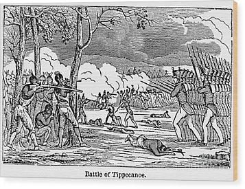 Battle Of Tippecanoe Wood Print by Granger