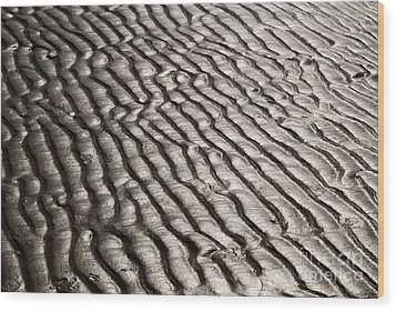 Wood Print featuring the photograph Beach Sands by Fotosas Photography