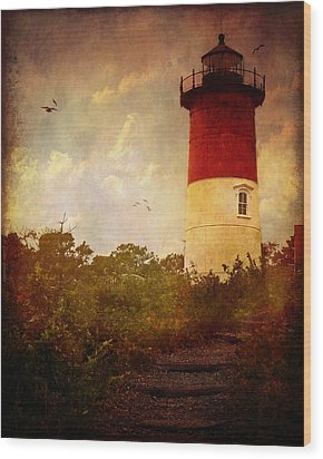 Beacon Of Hope Wood Print by Lianne Schneider