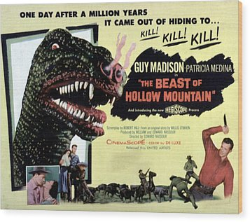 Beast Of Hollow Mountain, 1956 Wood Print by Everett