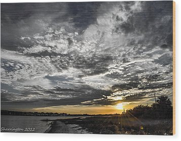 Beautiful Days End Wood Print