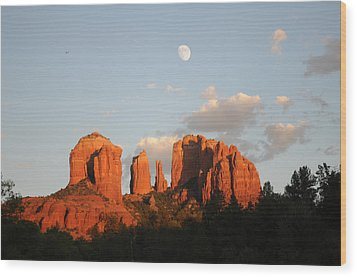 Beautiful Photography - Sedona Landscape Wood Print by Earl Bowser