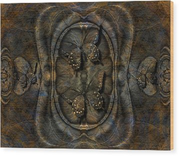 Beauty Incased Wood Print