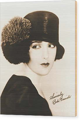 Bebe Daniels 1925 Wood Print by Padre Art