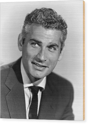 Because Of You, Jeff Chandler, 1952 Wood Print by Everett