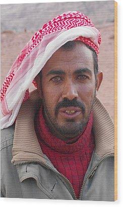 Bedouin Wood Print by David George