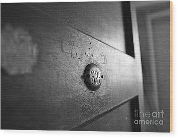 Behind Door No. 329 Wood Print by Luke Moore