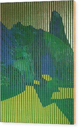 Behind The Blinds Wood Print by Jarle Rosseland