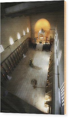 Beit Jamal Monastery 3 Wood Print by Isaac Silman