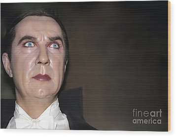 Bela Lugosi As Dracula Wood Print by Sophie Vigneault