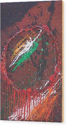 Belfast Dreamcatcher Wood Print by Brian Rock