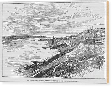 Belgrade: Fortress, 1876 Wood Print by Granger