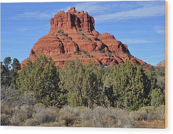 Wood Print featuring the photograph Bell Rock by Helen Haw