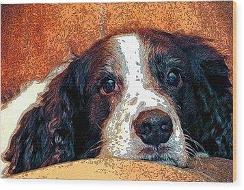 Bella Wood Print by James Steele