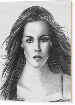 Bella Swan Wood Print