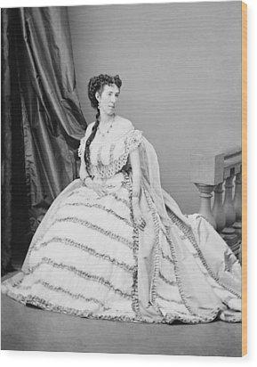 Belle Boyd 1844-1900, Was A Confederate Wood Print by Everett