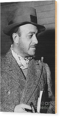 Ben Hecht (1894-1964) Wood Print by Granger