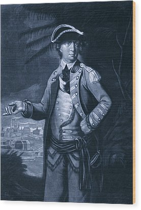 Benedict Arnold - Who Commanded Wood Print by Everett