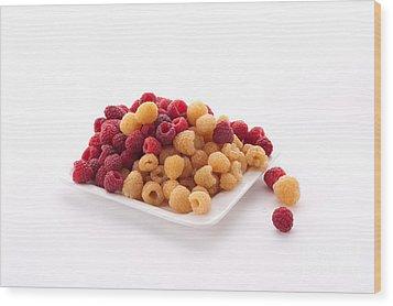 Berries Wood Print by Catherine Lau