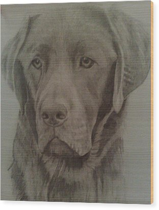 Best Friend Wood Print