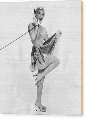 Betty Hutton, Ca. Early 1950s Wood Print by Everett
