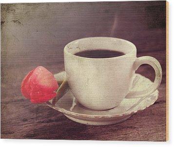 Beverage Wood Print by Darren Fisher