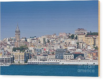 Wood Print featuring the photograph Beyoglu by Andrew  Michael