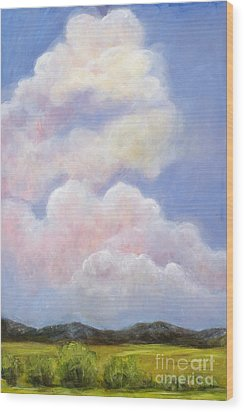Big Blue Colorado Sky Wood Print