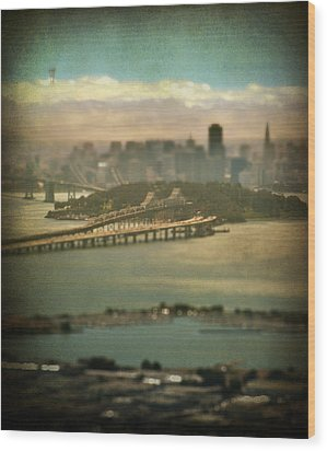Big City Dreams Wood Print by Laurie Search