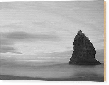 Big Rock Wood Print by Arixxx