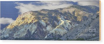 Big Rock Candy Mountains Wood Print