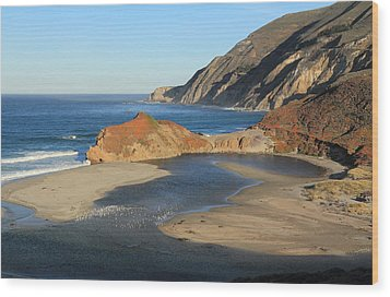 Wood Print featuring the photograph Big Sur by Scott Rackers