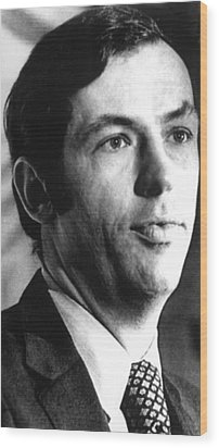Bill Bradley, February 13, 1975. Photo Wood Print by Everett