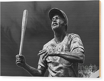 Billy Williams - H O F Wood Print by David Bearden