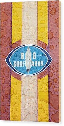 Bing Surfboards Wood Print by Ron Regalado