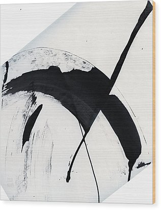 Bird Soaring Wood Print