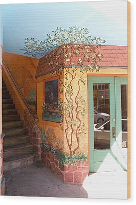 Bisbee Wall Art Wood Print by Feva  Fotos