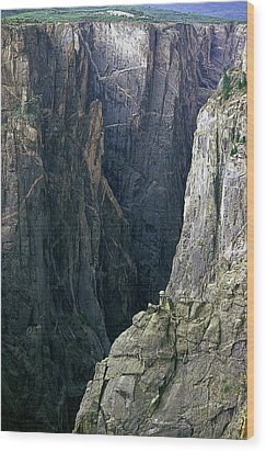 Black Canyon National Park Close View Wood Print