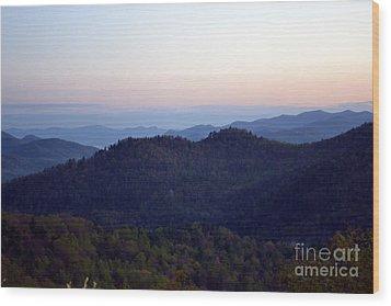 Black Rock Mountain-36 Wood Print by Eva Thomas