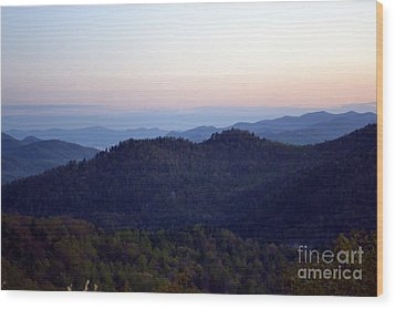 Black Rock Mountain-36 Wood Print