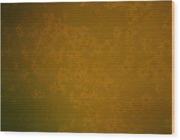Blackeye 3 Wood Print by Kennith Mccoy