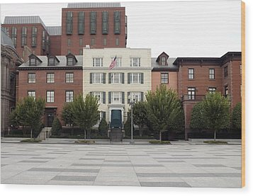 Blair House Is The Official Wood Print by Everett