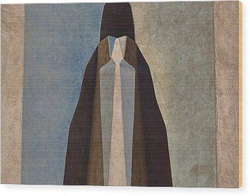 Blanket Wood Print by Carol Leigh